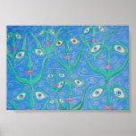 water eye reeds print