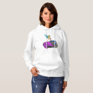 Water Fairy, also known as a Mermaid! Hoodie