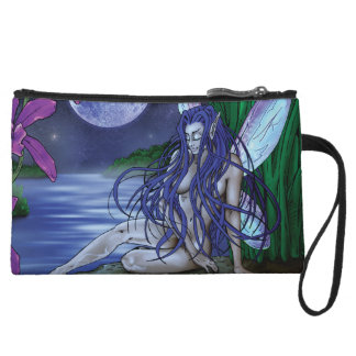 Water Fairy Clutch Wristlet Purse