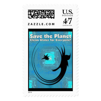 Water Fairy Save the Planet Clean Water for Everyo Postage