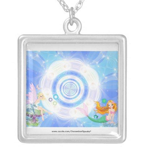 Water fairy & siren pendant