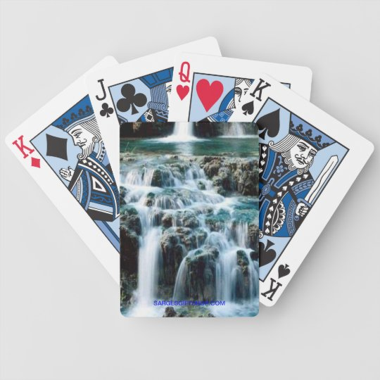 WATER FALL BICYCLE PLAYING CARDS