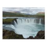 Water fall Godafoss Postcards