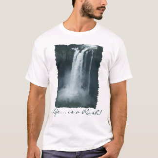 WATER-FALL Nature Lover's Motivational T-Shirt