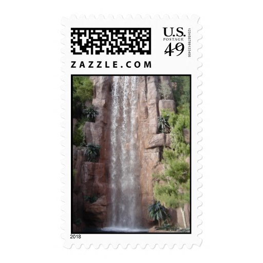 Water Fall Stamp