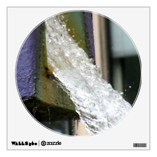 Water Falling Room Decals