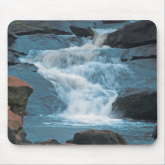 Water Falls Mouse Pad