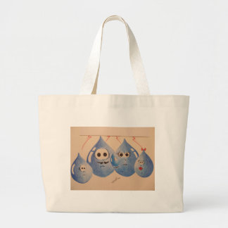 WATER FAMILY LARGE TOTE BAG