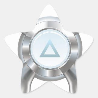 Water faucet star sticker