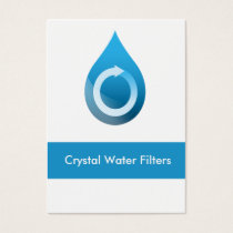 water filter Business Cards