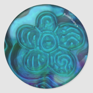 Water flower stickers