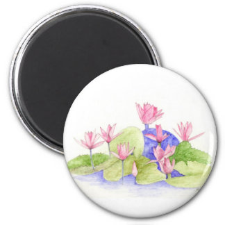 Water Flowers Magnet