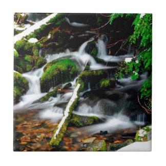 Water Foggy Streams Tile