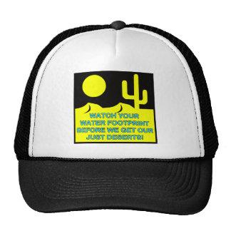 WATER FOOTPRINT HATS