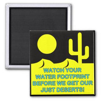 WATER FOOTPRINT MAGNET