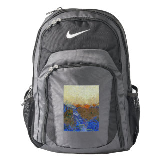 Water for melting ice backpack