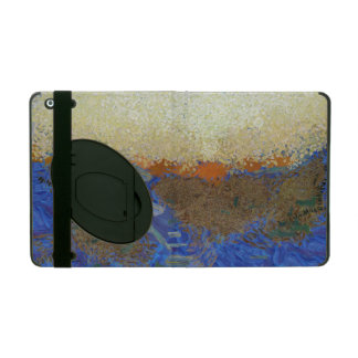 Water for melting ice iPad folio case