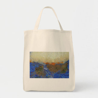 Water for melting ice tote bag