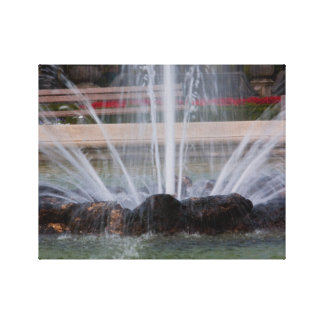 """Water fountain"" canvas prints"