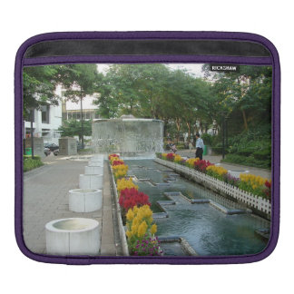 Water Fountain in Hong Kong Park (inside and out) Sleeve For iPads