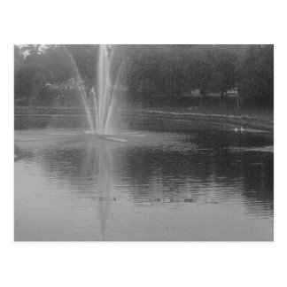 Water Fountain Post Cards