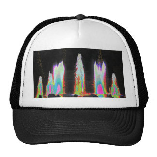 Water Fountain Shows Parks n Gardens New Jersey US Trucker Hat