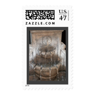 Water Fountain Stamp