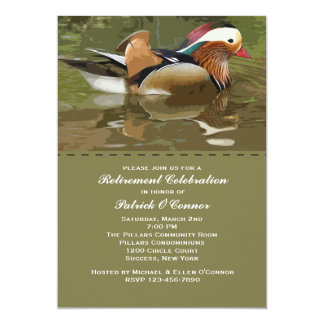 Water Fowl Invitation