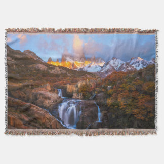Water From Heaven Throw Blanket