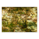Water from Hot Springs Abstract Nature Photo Card