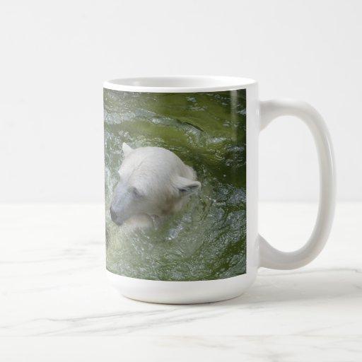 Water Fun Polar Bears Coffee Mugs
