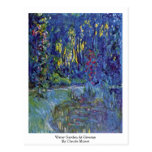 Water Garden At Giverny By Claude Monet Postcards