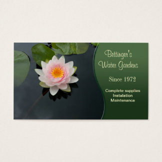 Water Garden Business Card