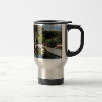 water garden travel mug