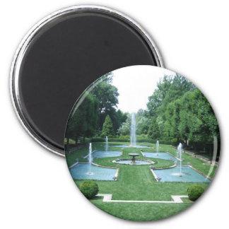 Water Gardens 2 Inch Round Magnet