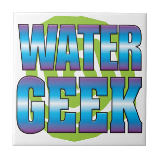 Water Geek v3 Small Square Tile