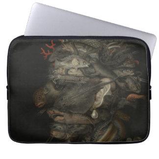 Water - Giuseppe Arcimboldo Laptop Computer Sleeves