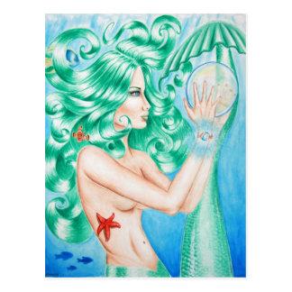 Water Goddess postcard