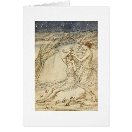 Water Goddesses (Blank Inside) Card