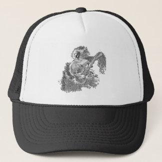 Water Guitar Player Trucker Hat