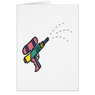 Water Gun Card