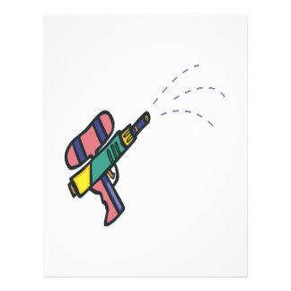 Water Gun Flyer