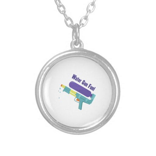 Water Gun Fun Custom Necklace