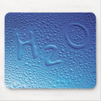 Water, H2O, Blue Mouse Pad