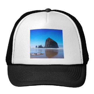 Water Haystack Rock Trucker Hat
