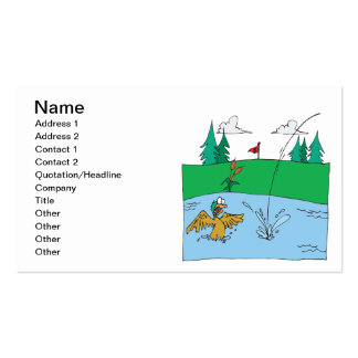 Water Hazard Double-Sided Standard Business Cards (Pack Of 100)