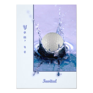 Water Hazard Personalized Announcement