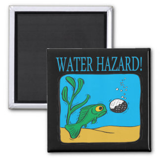 Water Hazard Magnet
