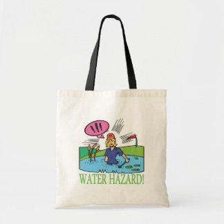 Water Hazard Tote Bag