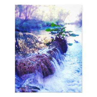 water haze photo print